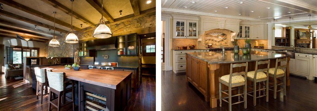 two kitchen designs