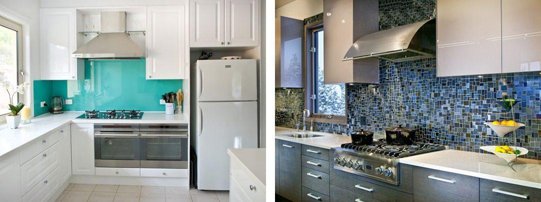 Kitchen backsplash inspiration: bright colors