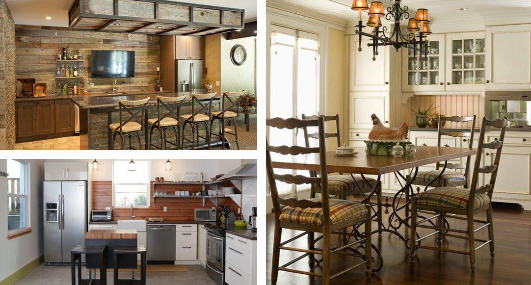 Kitchen backsplash inspiration: wood