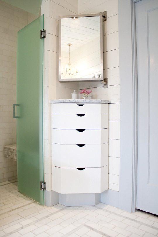 Bathroom Corner Cabinet on Carlisle Wide Plank Floors Blog