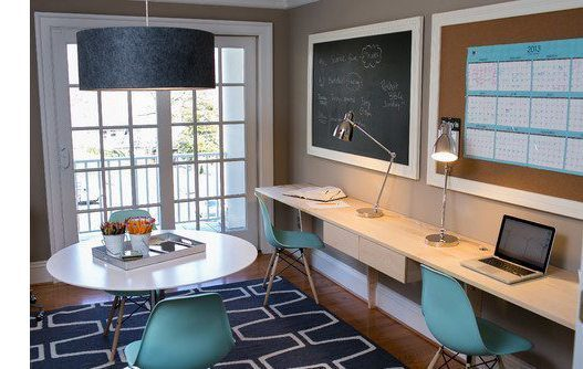 Contemporary Home Office by Dc Metro Interior Designers & Decorators Residents Understood