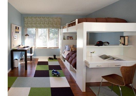 Contemporary Kids by San Francisco Interior Designers & Decorators Lisa Rubenstein - real rooms design