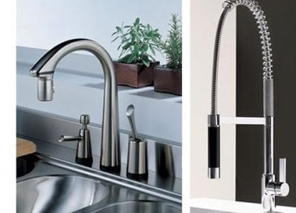 Two faucets examples