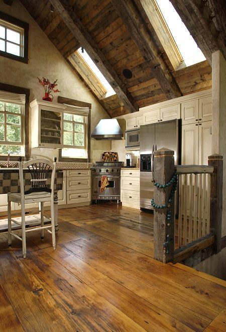Reclaimed Wood Floors and Recycled Wood Floors from Carlisle Wide Plank Floors