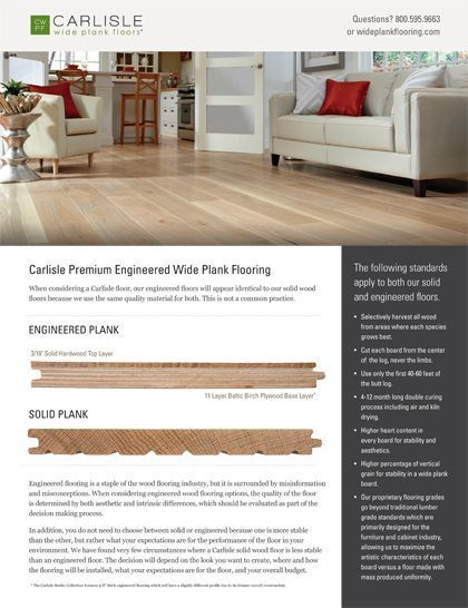 Engineered Wood flooring from Carlisle Wide Plank Floors