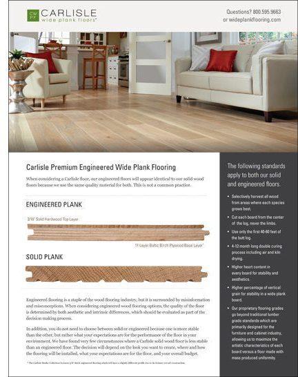 Carlisle Engineered Wood Flooring Shopping Guide