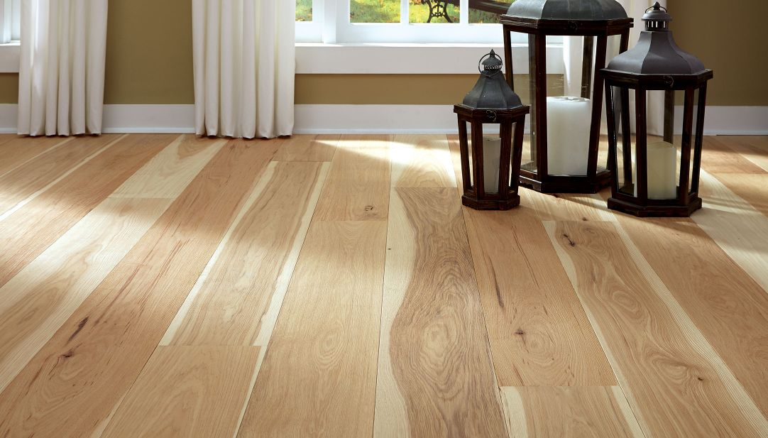 Hickory flooring and engineered wood flooring from Carlisle Wide Plank Floors