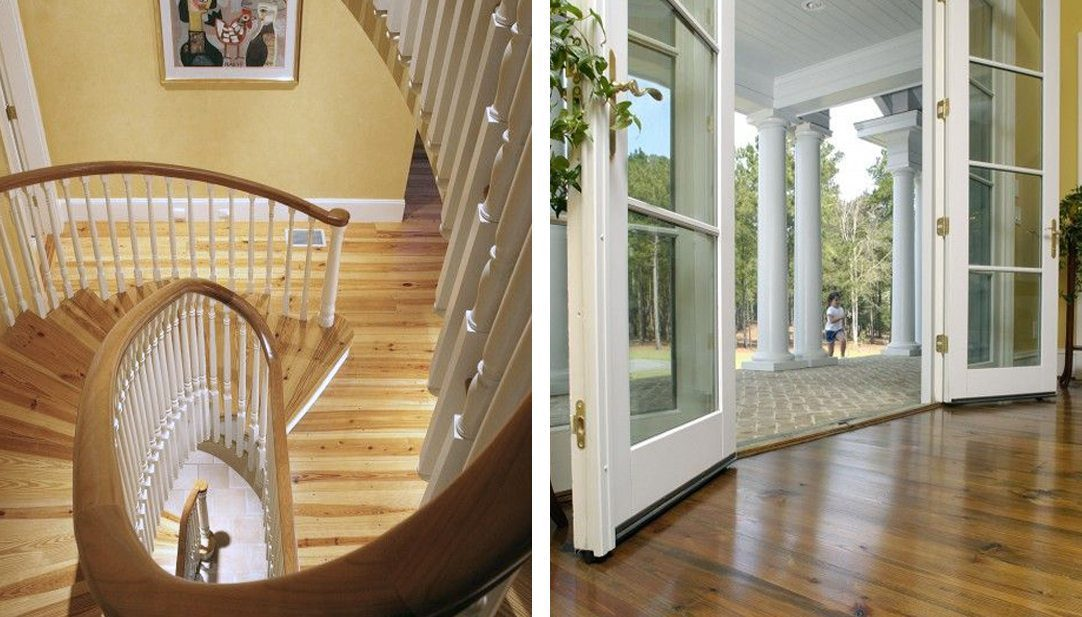 Heart Pine Flooring and Prefinished Wood Flooring from Carlisle Wide Plank Floors