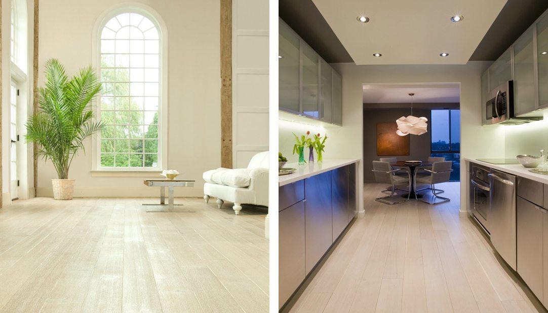 Oak flooring & white wash flooring from Carlisle Wide Plank Floors