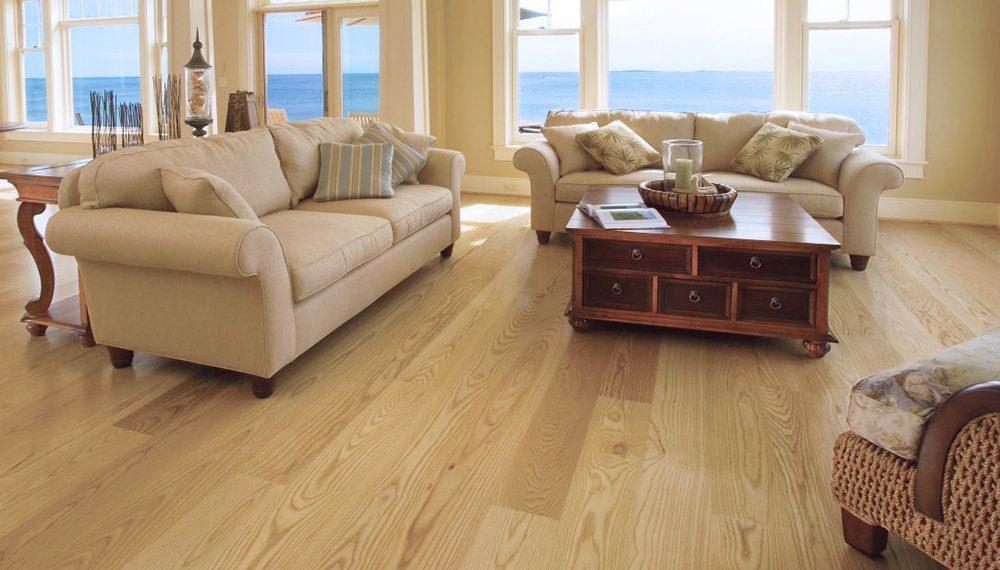 Ash hardwood flooring & Coffee Tables on Carlisle Wide Plank Floors Blog