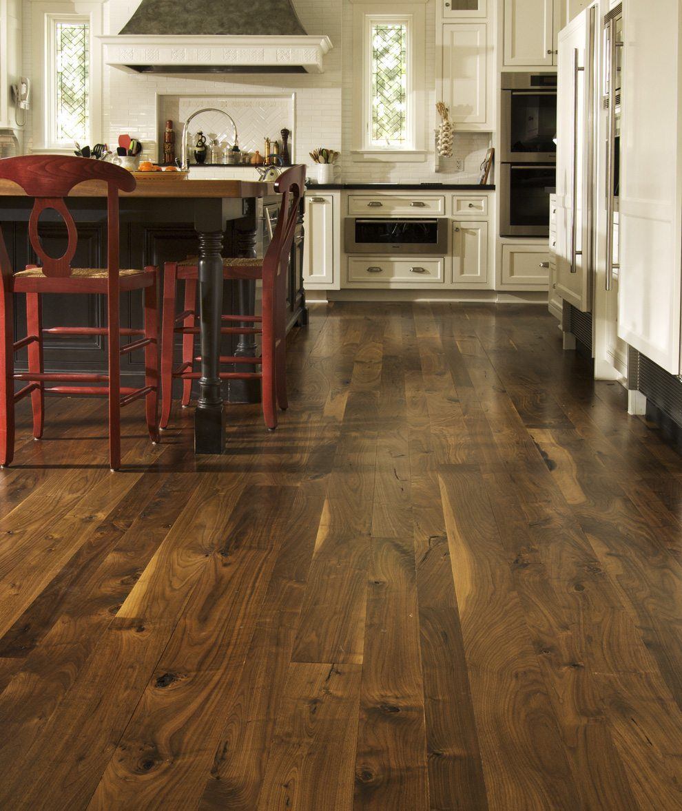 Dark Hardwood Floors With Dark Cabinets Wood Floors With: How To Mix Wood Flooring Styles & Colors To Create A