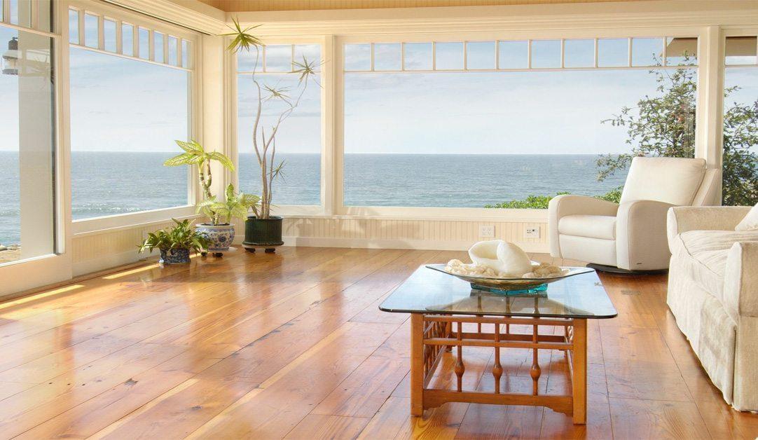 Carlisle wide plank flooring in a Solano Beach, California home