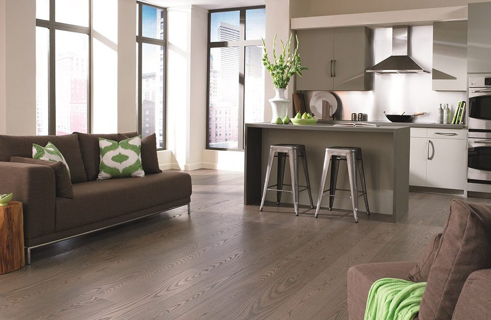 Gray Wood Floors from Carlisle Wide Plank Floors