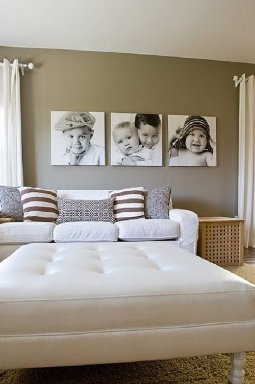 Family Portraits in Modern Decor from Carlisle Wide Plank Floors