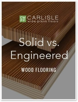 Solid vs. Engineered Wood Flooring Guide - Cover