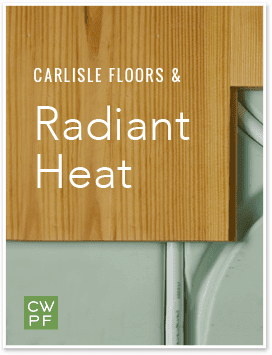 Carlisle Floors and Radiant Heat - Cover