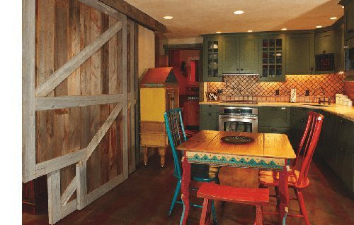 Rustic Flooring & Pine Flooring from Carlisle for Vail Ski Lodge