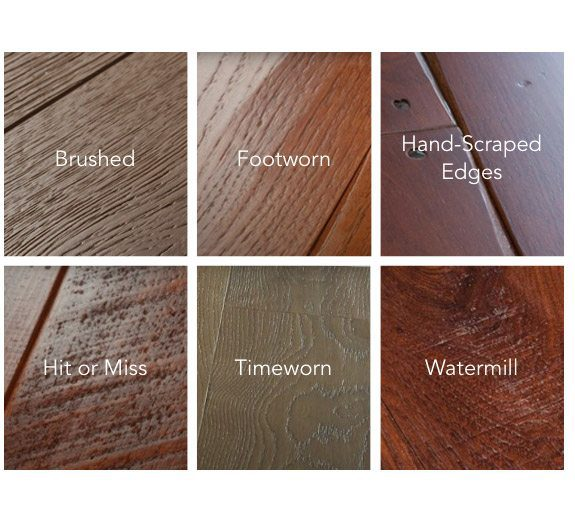 Handmade Surface Treatments - Carlisle Wide Plank Floors