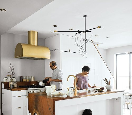 Brass Hood for Interior Decor on Carlisle Wide Plank Floors Blog