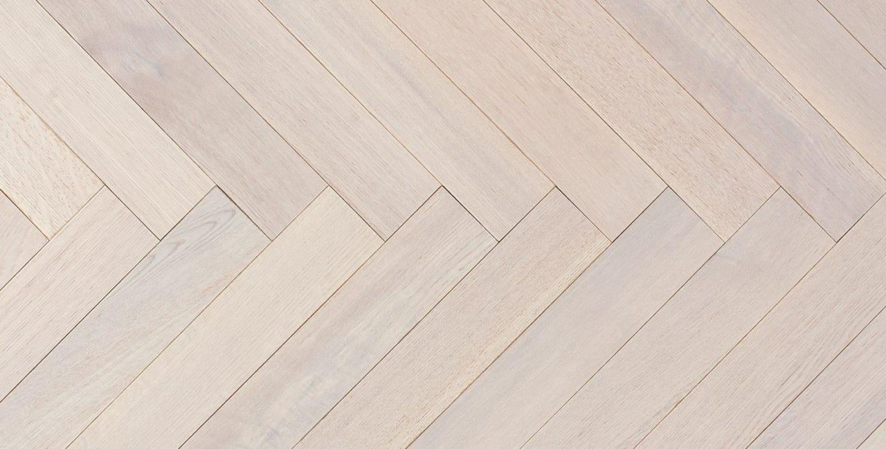 large white oak floor manhattan herringbone Columbus circle panel