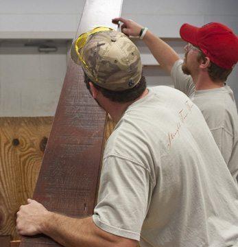 prefinished wood floor inspection