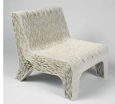 3D Imprinted Chair on Carlisle Wide Plank Floors