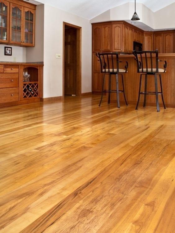Brown Maple Hardwood Flooring Living Room Carlisle Wide