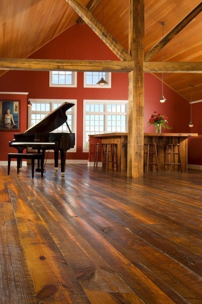 Reclaimed Flooring Music Room Carlisle Wide Plank Floors