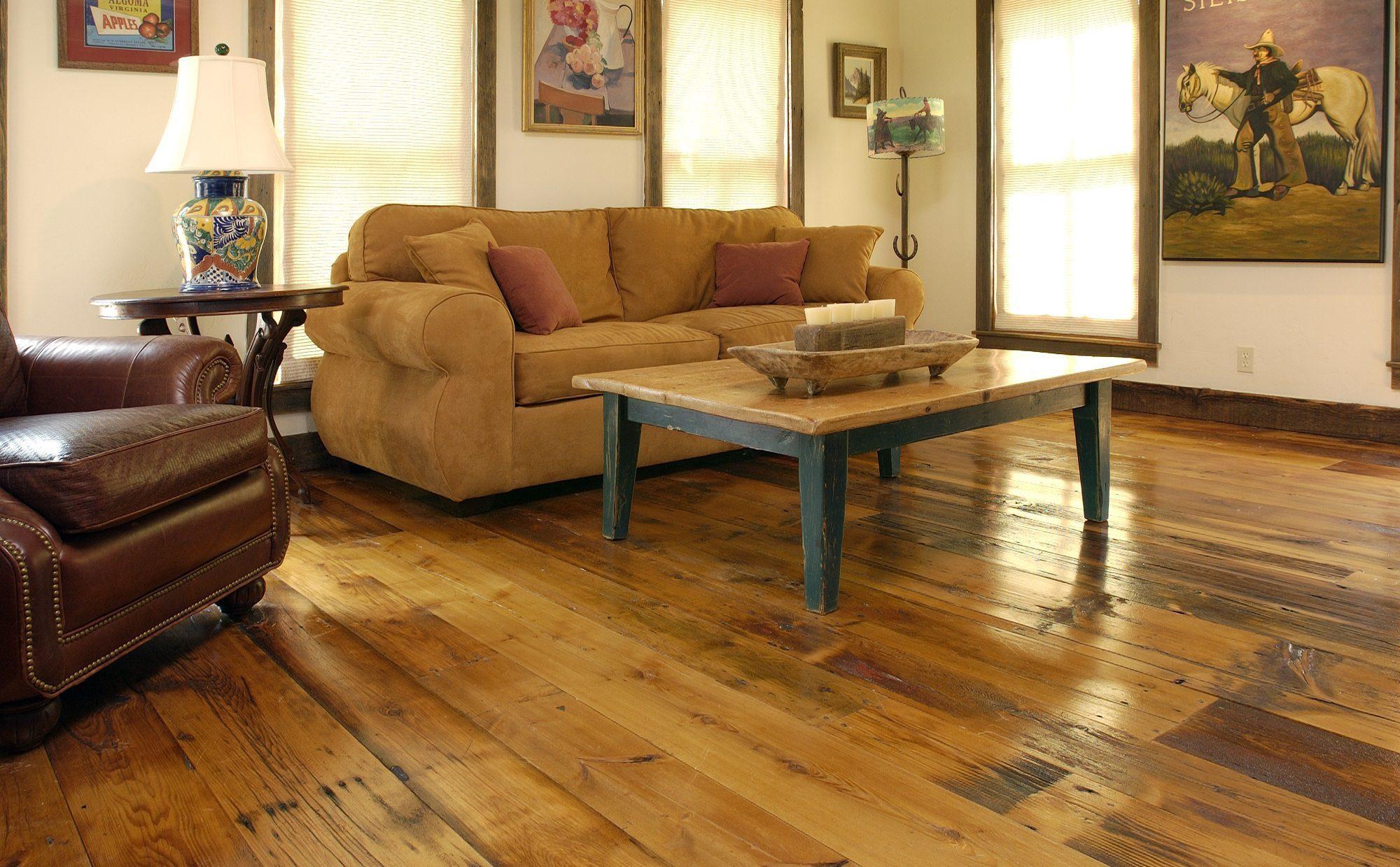 Reclaimed Milled Barnwood Floors
