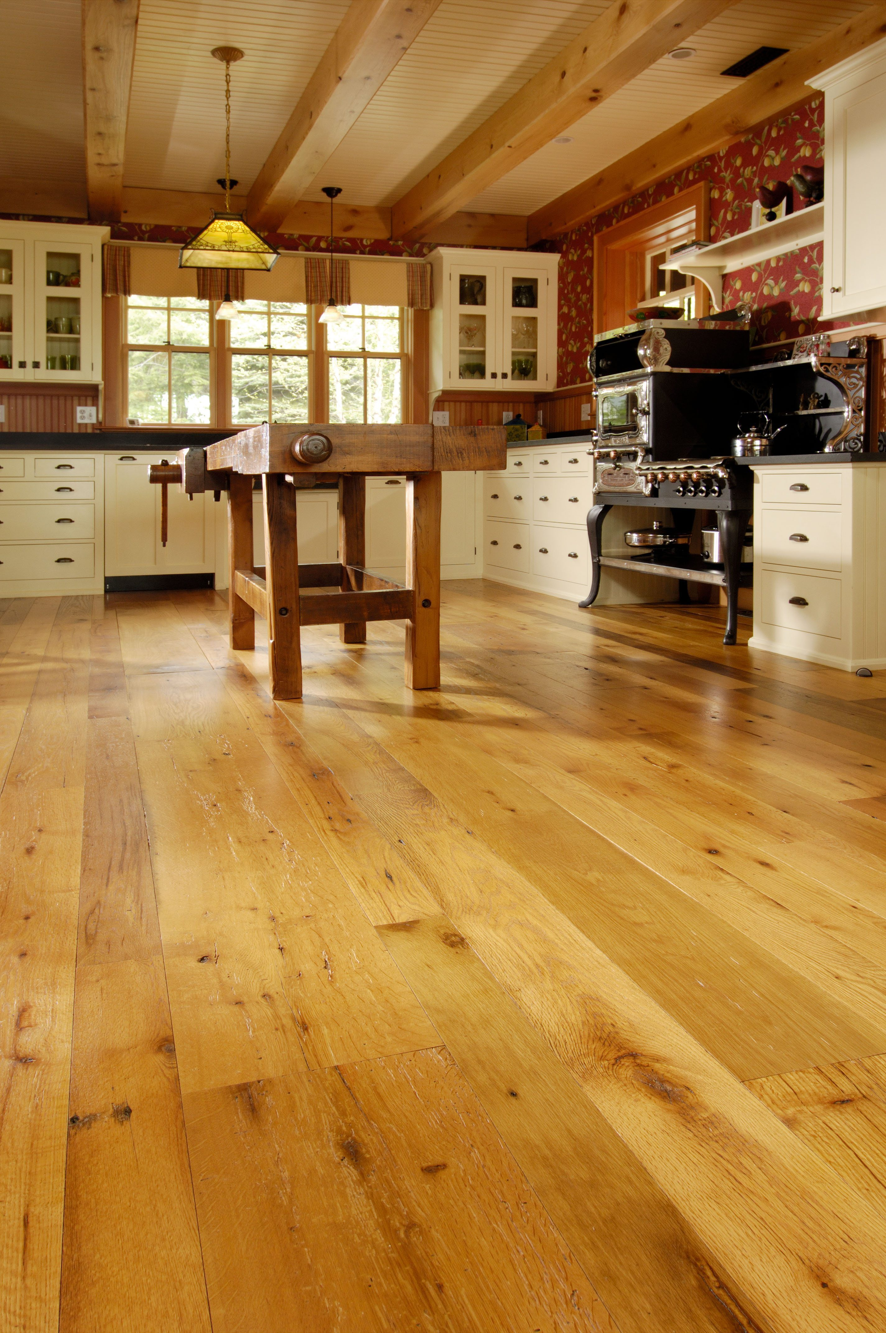Hardwood Flooring Kitchen Images