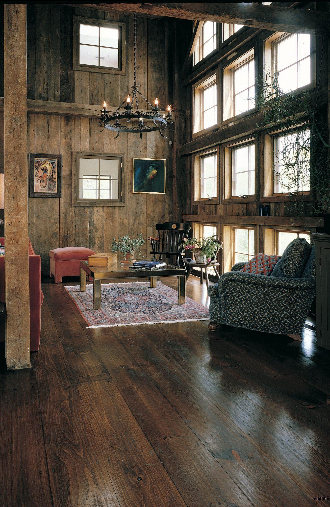 Reclaimed Barnwood Flooring Living Room Carlisle Wide Plank Floors