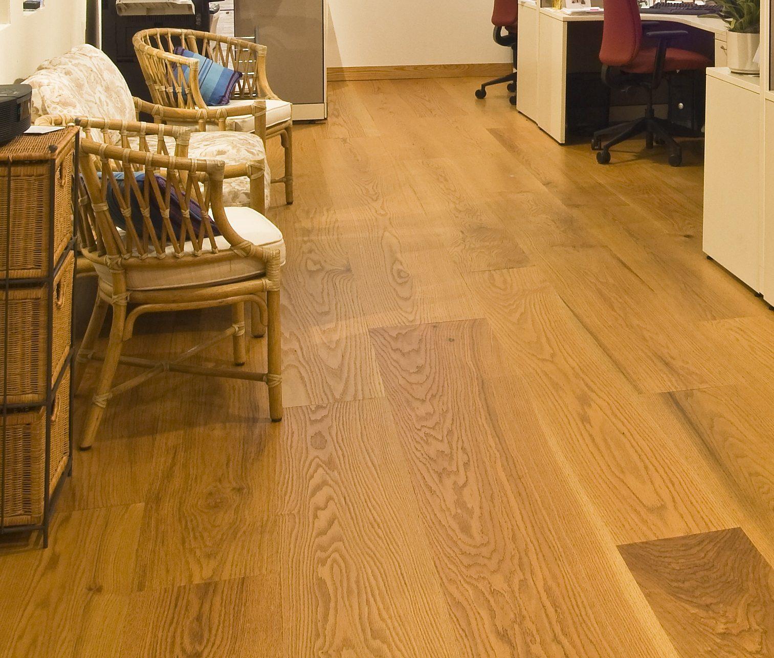Red Oak Flooring In A Home Office Carlisle Wide Plank Floors
