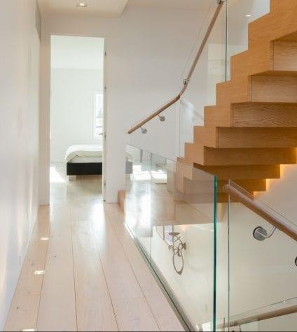 White Oak Floors in an Upstairs Hallway