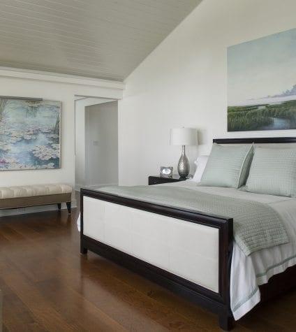 Rift and Quartersawn White Oak in Master Bedroom