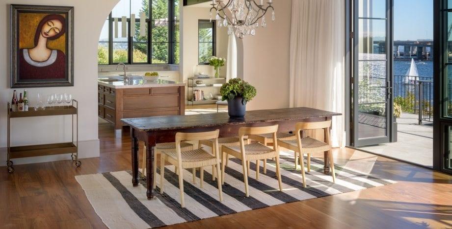 The Pepper Residence Custom Wood Floors