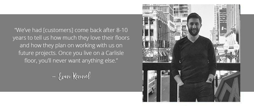 Evan Kennel, Chicago, Carlisle Wide Plank Floors
