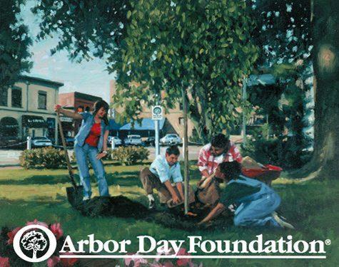 Arbor Day Foundation Tree Planting