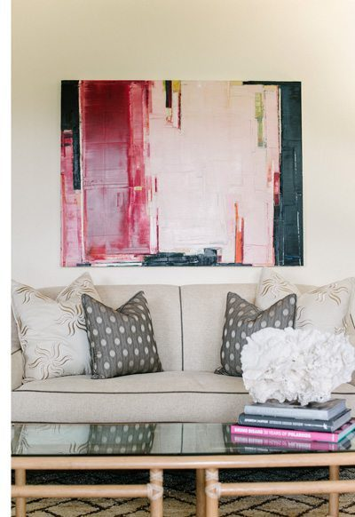 Living Room by Interior Designer Molie Malone