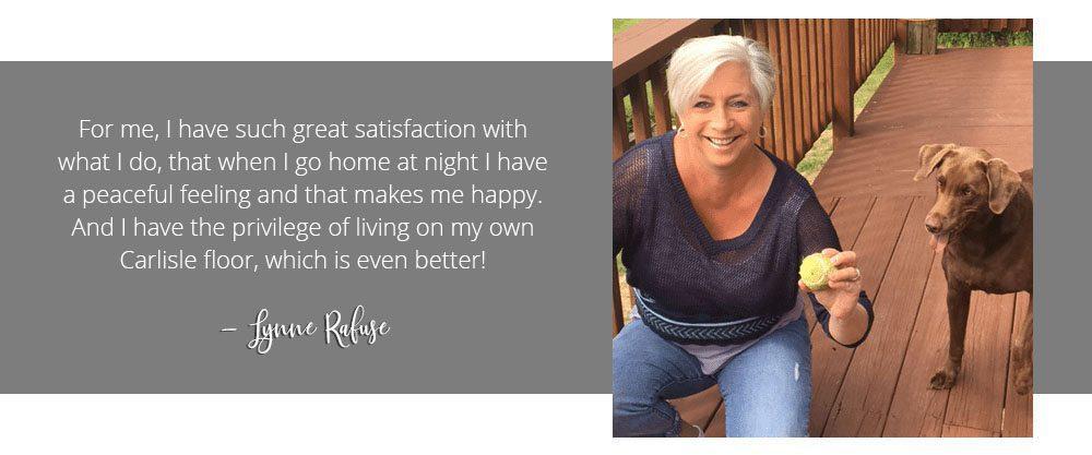 Lynne Rafuse, wide plank specialist
