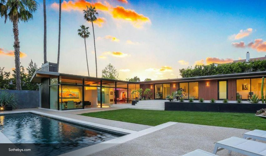 A Mid Century Style Home