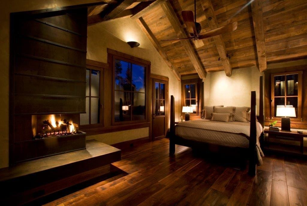 Bedroom Dark Floor