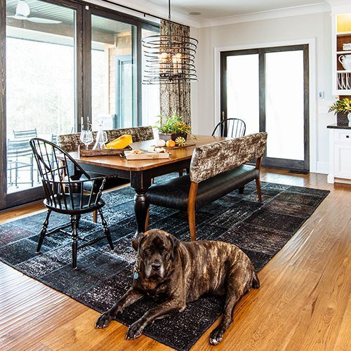 Make sure you trim your dog's toenails to keep your wood floors looking beautiful