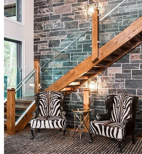 Glass railing staircases will instantly infuse a home with a striking, contemporary feel.