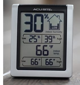 Example of a humidity monitor