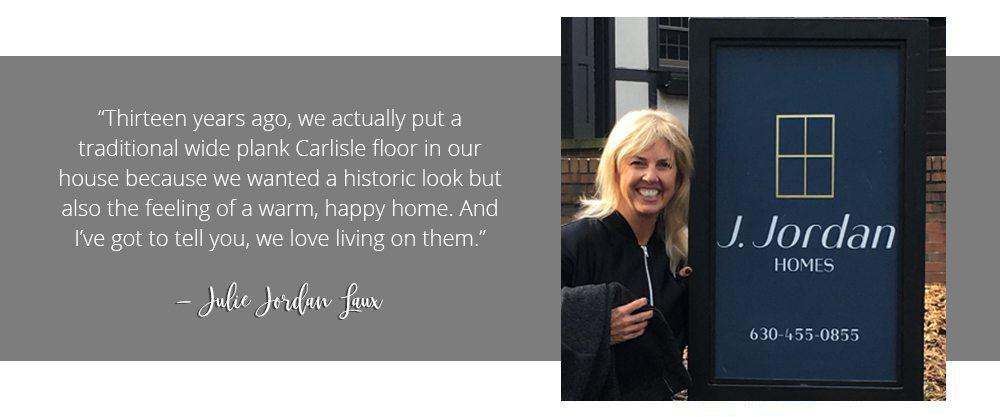 Julie Jordan Laux of J. Jordan Homes