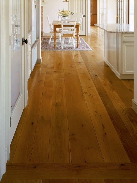 New England Kitchen White Oak Floors Carlisle Wide Plank