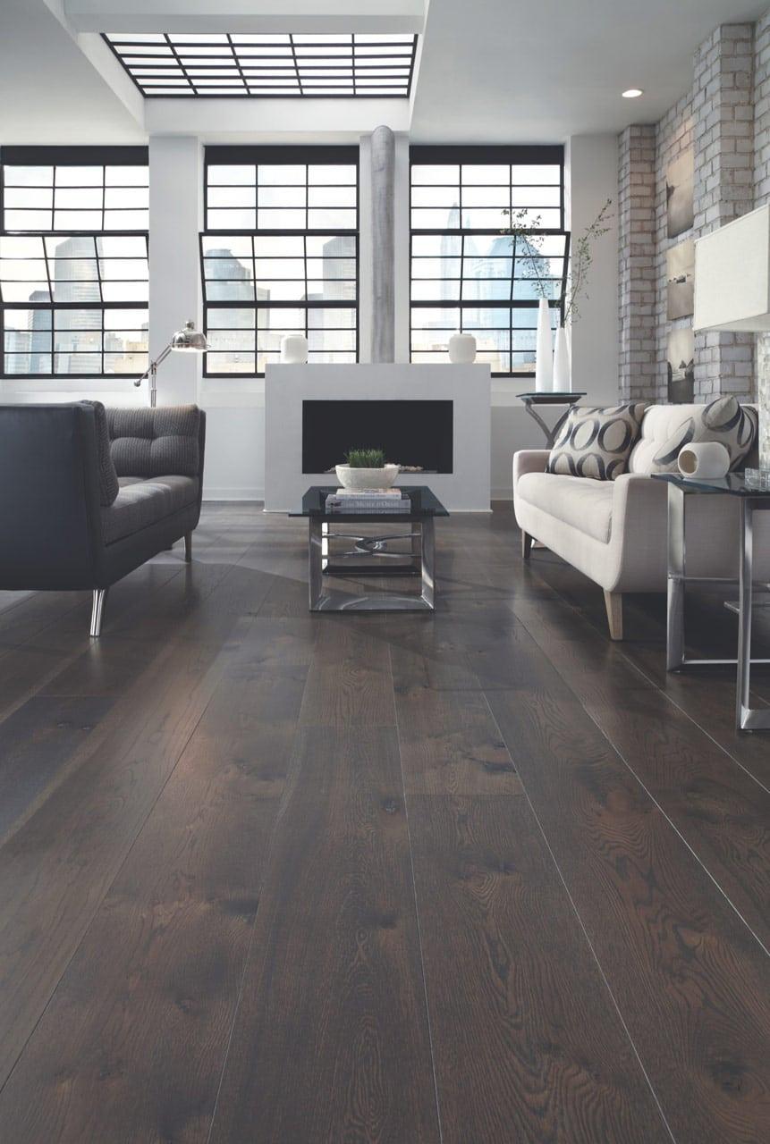City Loft Dark White Oak Floors Carlisle Wide Plank Floors