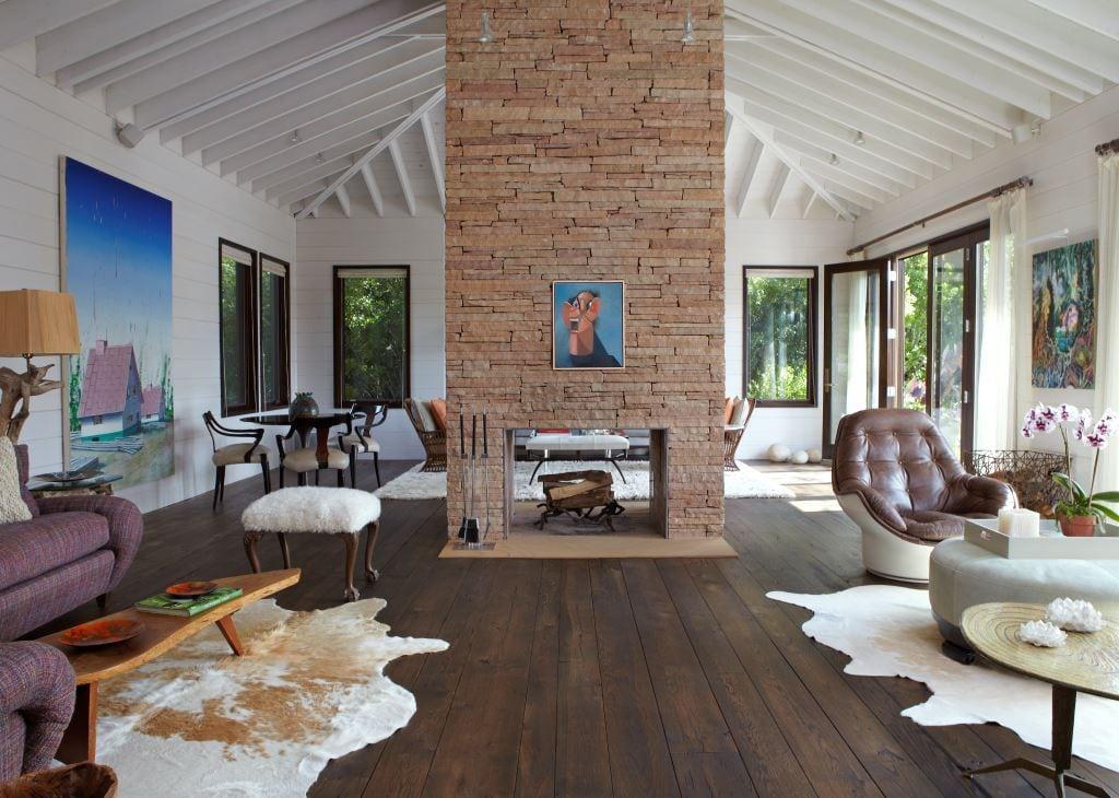 Reclaimed Oak Flooring Living Room Carlisle Wide Plank