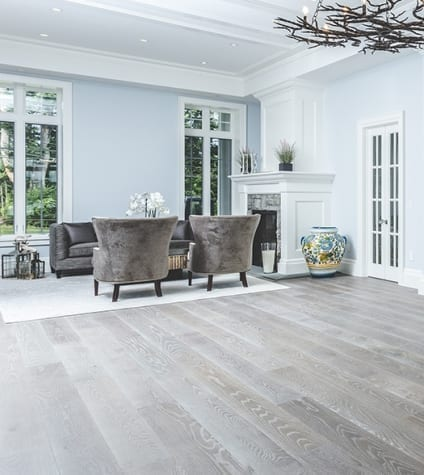 Carlisle Wide Plank Floors Optimistic Stone flooring in Living Room with Furniture