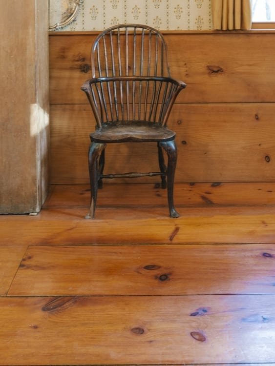 eastern white pine floor